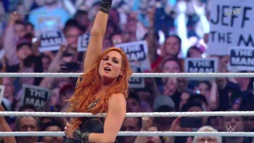 Becky Lynch won the 2019 Women's Royal Rumble match