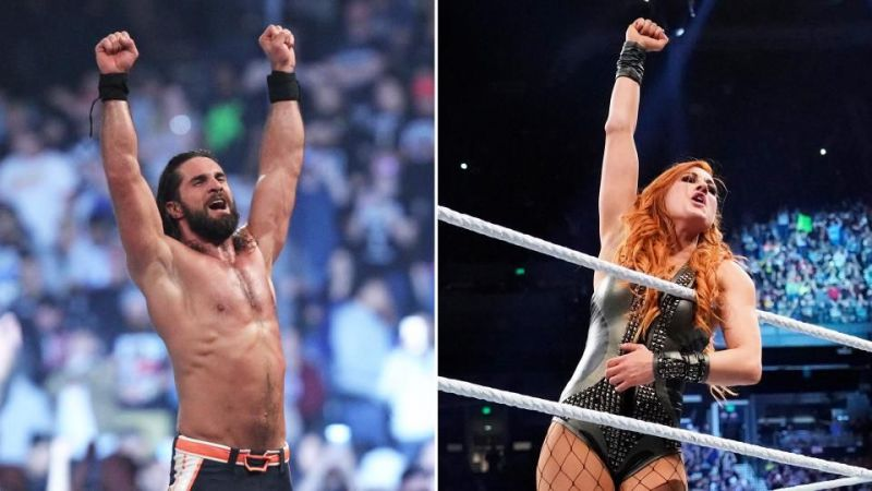Seth Rollins and Becky Lynch are the winners of this year