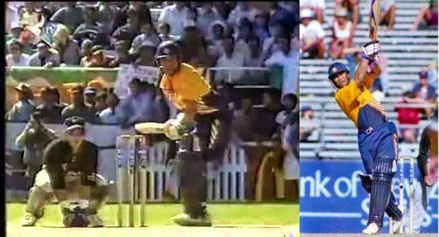 Sachin Tendulkar made an exhilarating 82 off just 49 balls