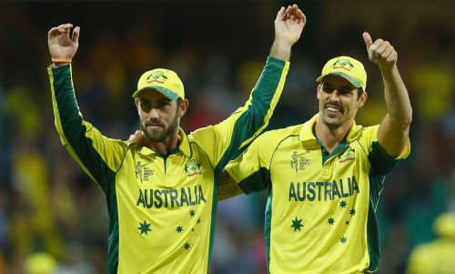 Johnson has picked Glenn Maxwell as his preferred captaincy choice for the World Cup