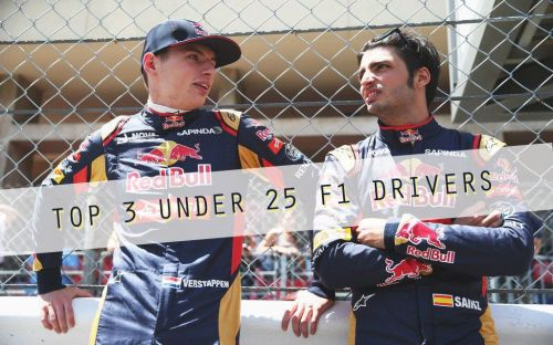 Sainz and Verstappen once formed a formidable rookie team