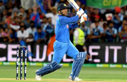 MSD yet again took India over the line in his own style.
