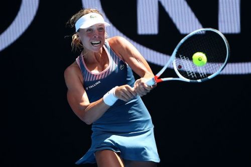 2019 Australian Open - Day 3 - Aliaksandra Sasnovich from Belarus
