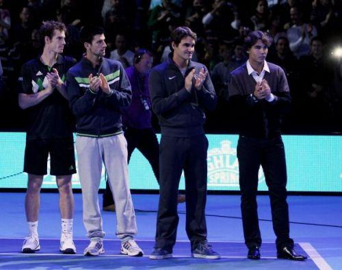 The Big 4 at an ATP World Tour Finals