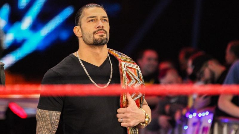 Reigns wasforced to relinquish the title