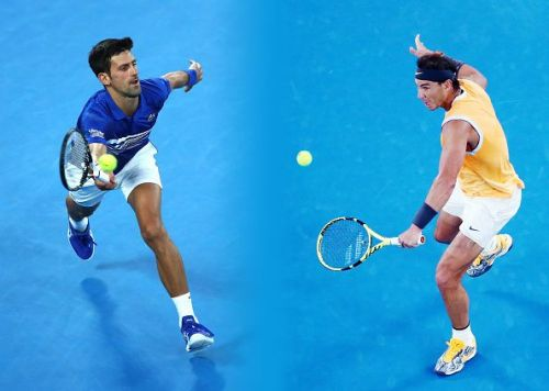 The pair are set to face off in their second Australian Open Final against one another on Sunday