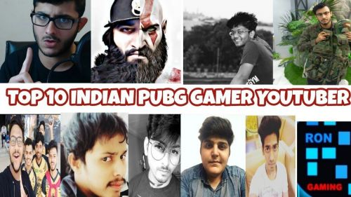 Indian YouTubers who stream PUBG