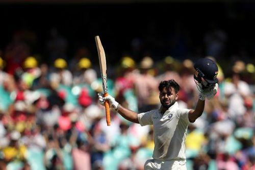 ऑस्ट्रेलिया के खिलाफ सिडनी टेस्ट में 159 रनों की नाबाद पारी के दौरान ऋषभ पन्त