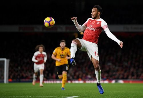 Aubameyang will be looking to add more to his tally