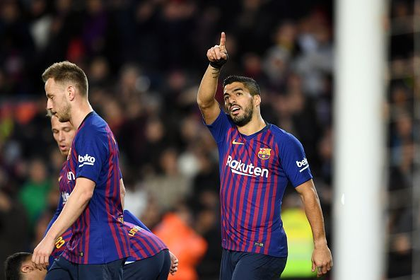 Suarez was fantastic, netting a brace and creating the assist for Messi during their 3-0 win
