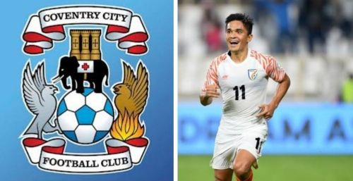 Sunil Chhetri was linked to a move to Coventry City FC