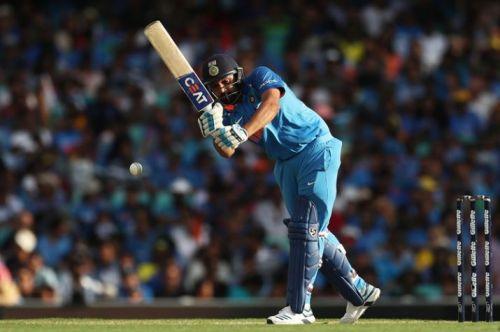 Rohit scored 133 runs in the first ODI against Australia