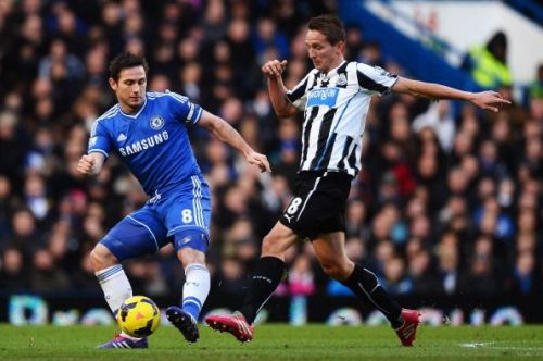 Frank Lampard benefited from inside information while he was a player at Chelsea