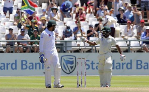 Bavuma scored fifty