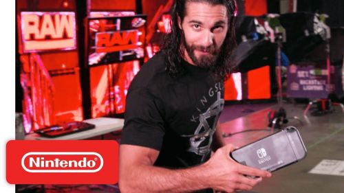 Seth Rollins promoted the Nintendo Switch version of WWE 2K18.