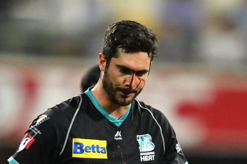 Ben cutting injured in BBL