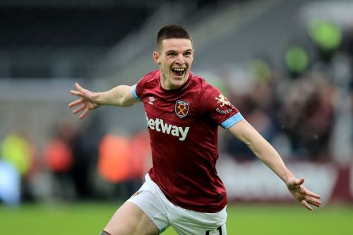Declan Rice showed much more desire to play for his club than the entire Arsenal team