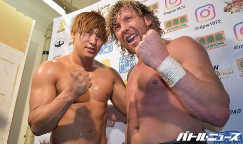 Kenny Omega and Kota Ibushi together again?
