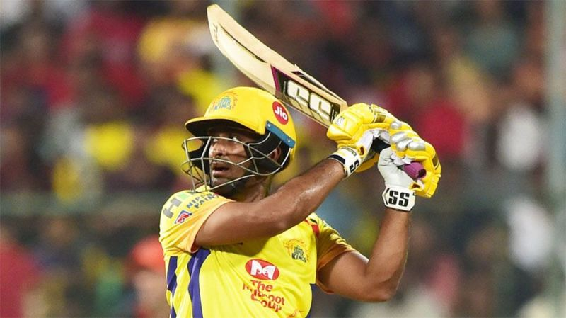Ambati Rayudu played the lead role for CSK in the previous season