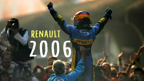 Fernando Alonso and Renault at the peak of their partnership
