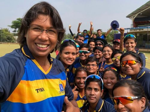Bengal Women's Cricket team crowned as the one-day league winner of 2018-19.