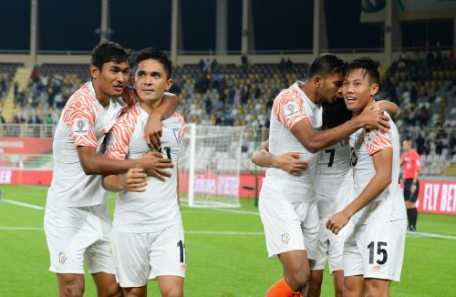 India put 4 past Thailand in their opener in the Asian Cup