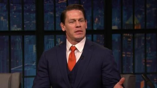 John Cena has gone complete Hollywood, and has become a major name in the industry