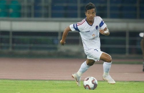 Lallianzuala Chhangte played for Delhi Dynamos FC in the past two seasons