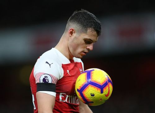 Xhaka had a game to forget