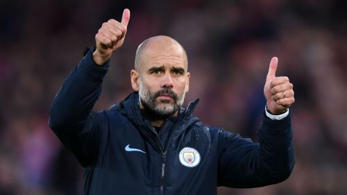 Pep Guardiola suggested a quiet transfer market for City.