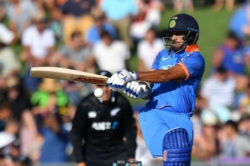 Shikar Dhawan Scores Fifty