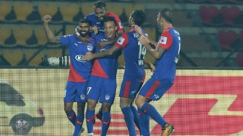 Chencho again helped BFC overcome the Northeast United hurdle (Image Courtesy: ISL)