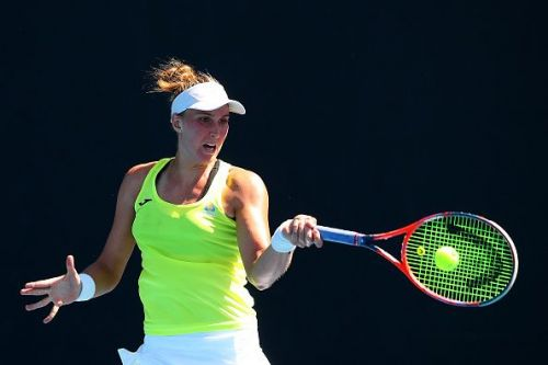 2019 Australian Open Qualifying - Day 4 - Beatriz Haddad Maia quelled the challenge from Bernarda Pera