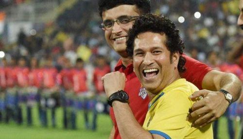 Sachin And Ganguly