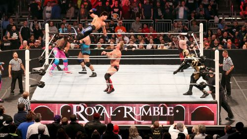 The Royal Rumble match