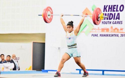 Weightlifting records have tumbled like nine pins. (Photo Courtesy: SAI Media)