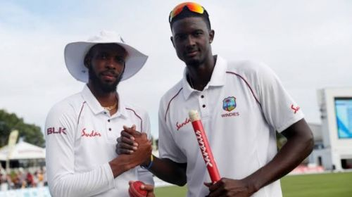 Jason Holder and Roston Chase were star performers in the first Test