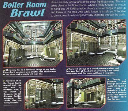A magazine preview of WCW Mayhem 2