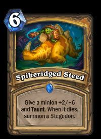 Image result for spikeridged steed