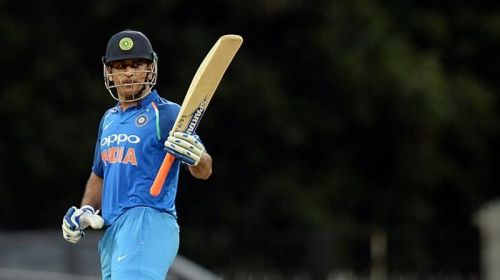 MS Dhoni played a fine innings