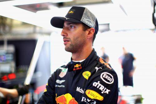 Ricciardo left Red Bull at the end of last season
