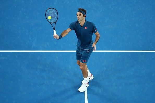 2019 Australian Open - Day 5 - Roger Federer sails into the fourth round