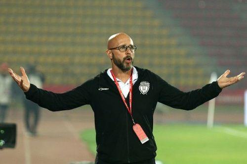 NorthEast United's coach Eelco Schattorie