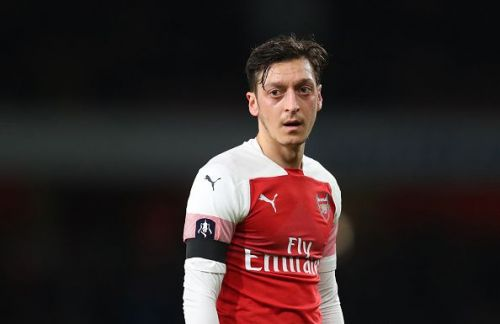 Mesut Ozil is currently struggling for his game time at Arsenal