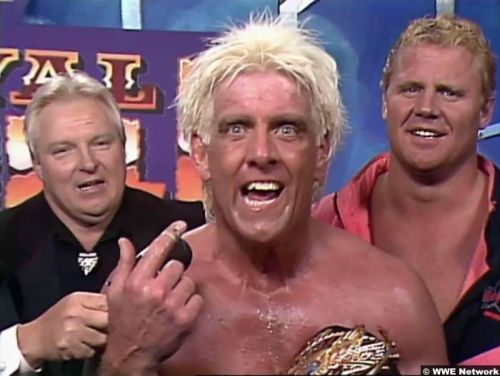 Ric Flair won his first ever Royal Rumble.