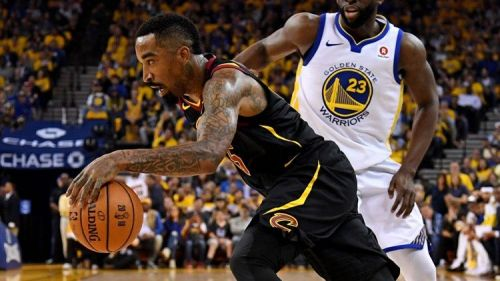 JR Smith is a career 37% shooter from beyond the arc.