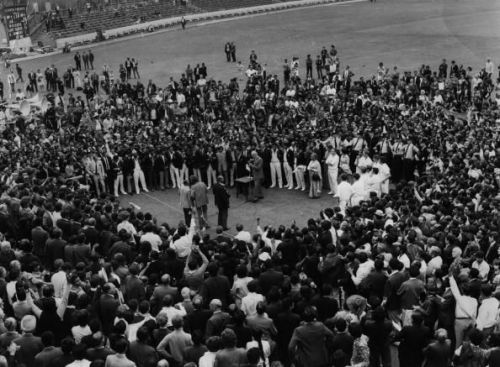 India triumphed at the Oval to win their maiden series in England in 1971