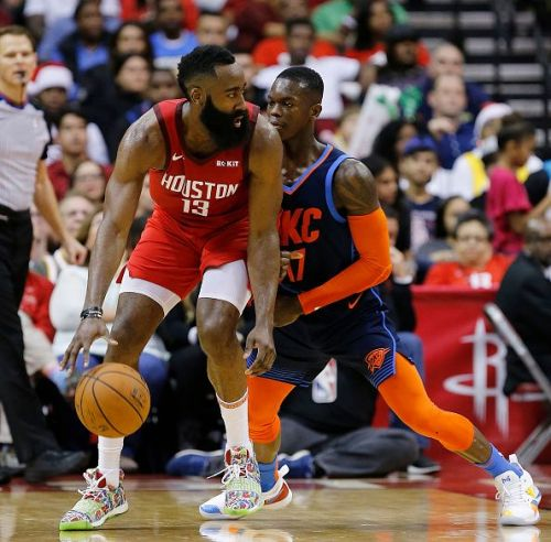 Harden has been on a roll this season