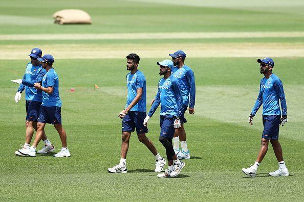 India ODI Series Training Session