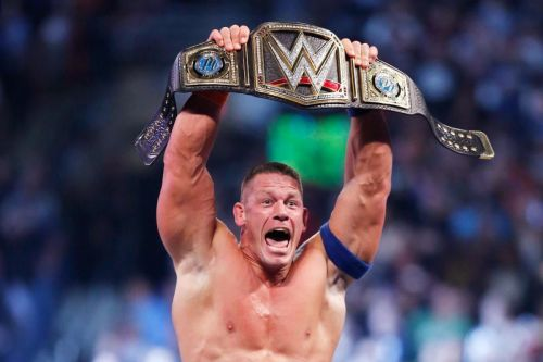 John Cena is a 16-time World Champion